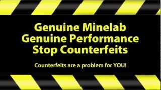 Minelab Detecting - Stop Minelab Counterfeits