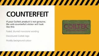 Coiltek's Anti Counterfeit view tutorial - STOP COUNTERFEITS!