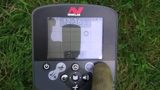 "Minelab CTX 3030 - Compared Modes on a 7"" Deep Coin"