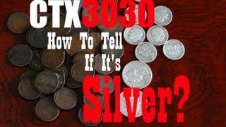 Minelab CTX 3030 How to tell if its SILVER! This Works!
