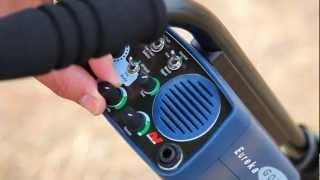 How to Find Gold with the Minelab Eureka Gold - Setting the Sensitivity level