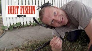 Dirt Fishin America Episode 9: Metal Detecting a Chinese Opium pipe and a GOLD Ring!