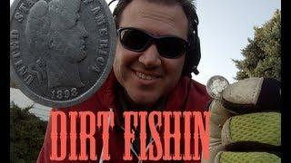 Dirt Fishin America Episode 6: Metal Detecting 19 SILVER coins! And GOLD Best day!