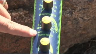 Chapter 14: Minelab Detectors: Excalibur II Underwater Detector Quickstart